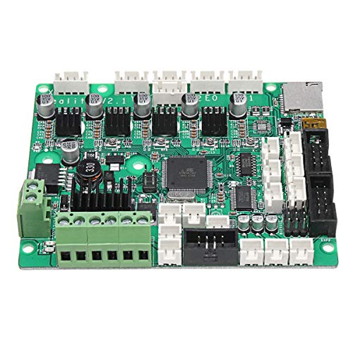 Yi Yi Ma Shi Pin 3D-Drucker-Controller-Karte 12V CR-10S 3D-Drucker Mainboard V2.1 Systemsteuerung Unterstützung Glühfaden Erkennung