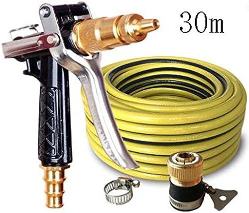 SHI XIANG SHOP Hochdruck-Autowaschanlage Kupfer-Wasserpistole SchwarzMehrfach-Option Optional A+ ( Größe   30 meters )