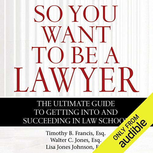 So You Want to Be a Lawyer audiobook cover art