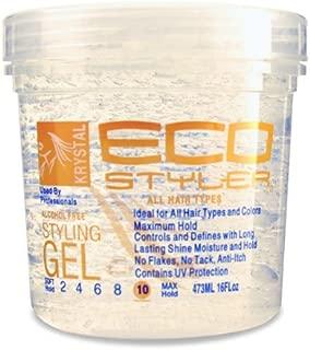 ECO Styler Professional Styling Gel Krystal, 16 oz (Pack of 6)