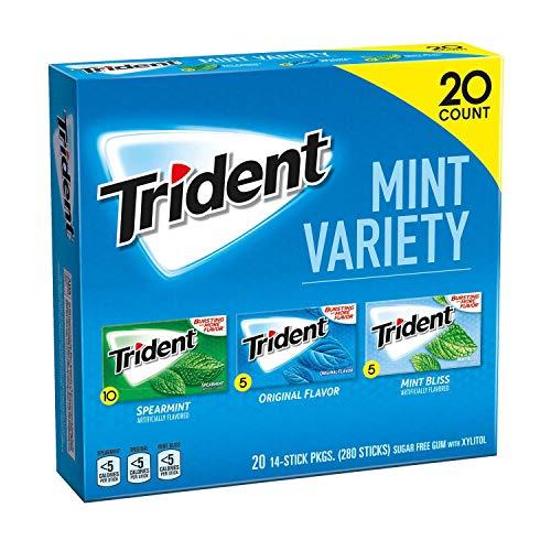 Trident Sugar Free Gum Mint Variety Pack 280 piece