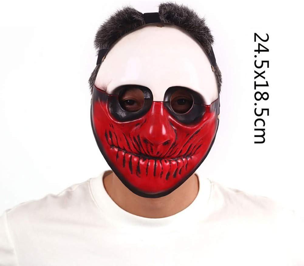Tweedimensionaal aankleden Dragon God Tiger Yasha Tengu-masker, harsmateriaal, Halloween-masker A