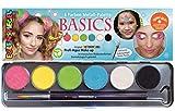 Eulenspiegel- Basic Paleta de Maquillaje, 6, Colores Veganos y Pincel carbón (206218) , color/modelo surtido