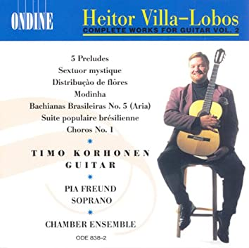 Villa-Lobos, H.: Guitar Music (Complete), Vol. 2