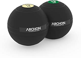 ARCHON Training Slam Ball Sets | Crossfit Workout | No Bounce Exercise Ball | Gym Equipment Accessories | Plyometric Exercise | Cardio | Jam Ball | Squats | Medicine Ball