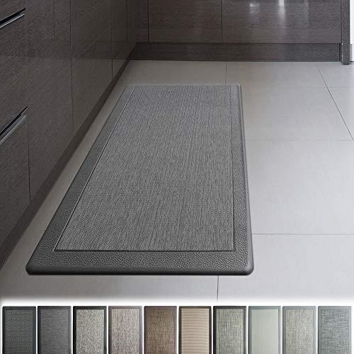 iCustomRug Ergonomic Anti Fatigue Mat, for Comfortable Standing in Kitchen, Bathroom, Workstation Memory Foam Mat in Granite 39'×20'×0.75' (L×W×H)