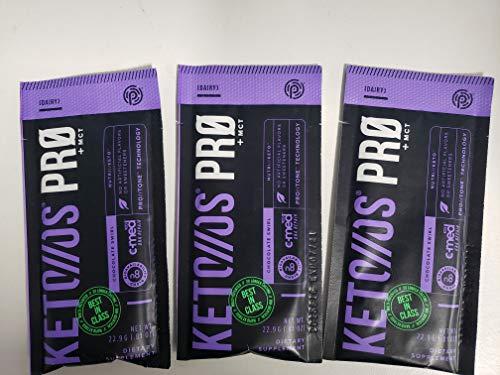 Pruvit Keto Os Pro Chocolate flavor 3 pack