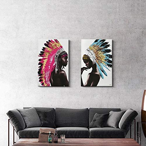 Indian paintings on canvas _image1