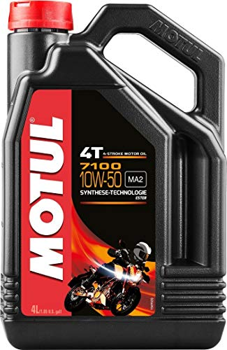 MOTUL 7100 4T 10W50 Motorenöl 4 Liter