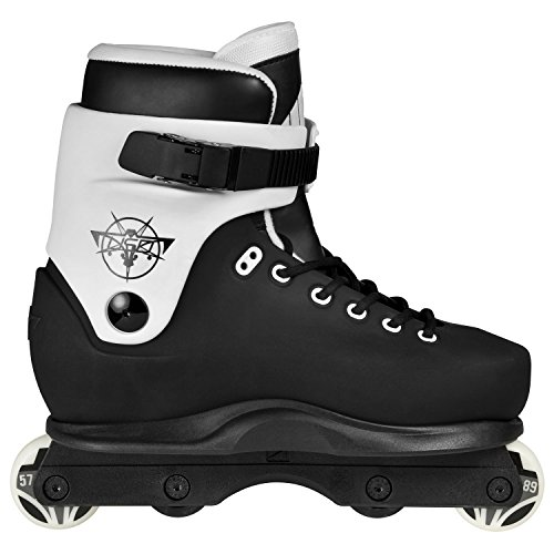 USD VII Clan Aggressive Inline Skates schwarz-grau schwarz-grau, 41-42
