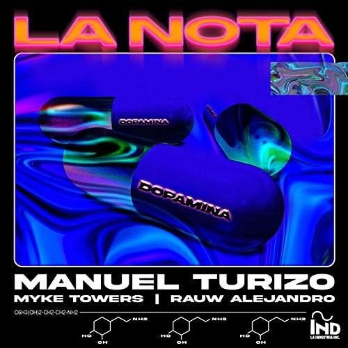 Manuel Turizo, Rauw Alejandro & Myke Towers