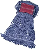 AmazonBasics Loop-End Synthetic Commercial String Mop Head, 5 Inch Headband,...