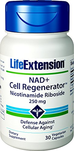 Life Extension NAD+ Cell Regenerator 250 mg, 30 Vegetarian Capsules
