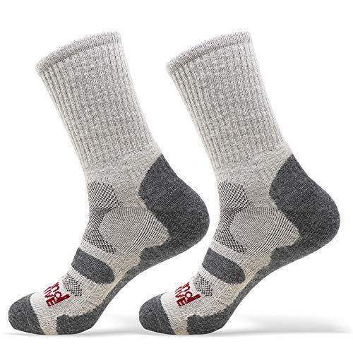 Lakeland Active Helvellyn Women's Four Season Merino Wool Hiking Socks - Grey - 35-38