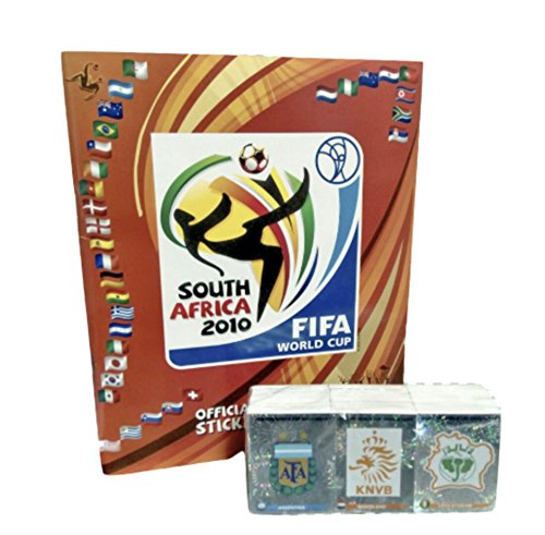 Panini Südafrika 2010World Cup Offizielles Lizenzprodukt Aufkleber Leer Album + Komplettes Collection