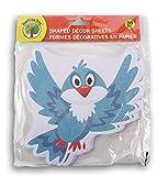 Teaching Tree Paper Shaped Decor Sheets - Bluebird - 36 Count