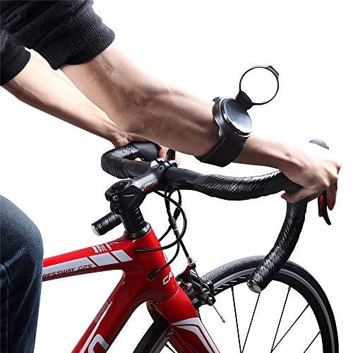 WXH Espejo retrovisor para Bicicleta de 2 Piezas, Espejo Ajustable de 360 Grados, Espejo Plegable Giratorio, Materiales portátiles Aspecto