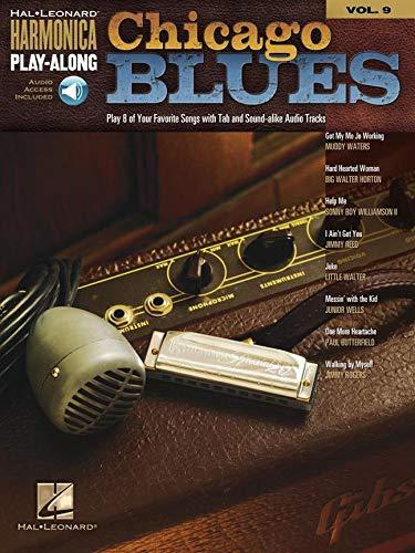 Chicago Blues - Harmonica Play-Along Volume 9 Book Ao (Diatonic Harmonica)