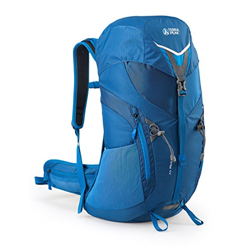 Terra Peak Rucksack Airflux 22 Wanderrucksack Trekking Verschiedene Farbvarianten, Farbe:Blue