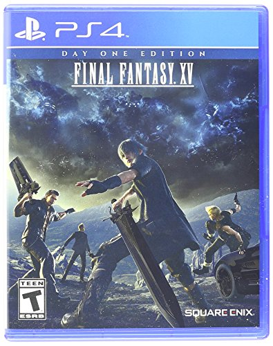 Final Fantasy XV : Day One Edition (Sony PlayStation 4 PS4, 2016) NEW
