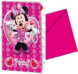 Disney Procos Doc Mcstuffin Invitations Card - 6 Pieces Multi