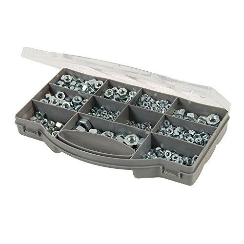 Fixman 771284 Sechskantmuttern-Sortiment 1000-tlg, silver