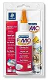 Staedtler FIMO Liquid, Gel fluide transparent pour pâte FIMO, Pour techniques de collage et jointoiement, Flacon de 200 ml,...