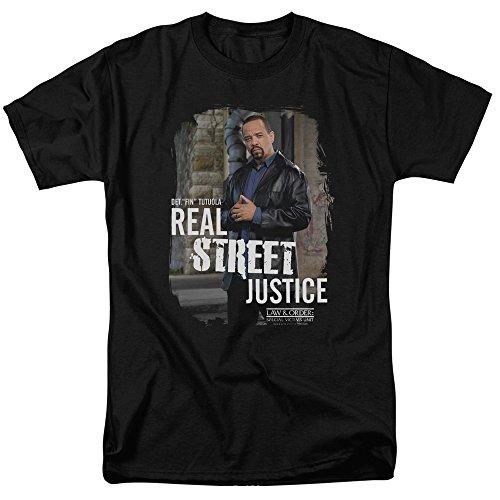 Trevco Men's Law & Order: SVU Short Sleeve T-Shirt, Black, Small