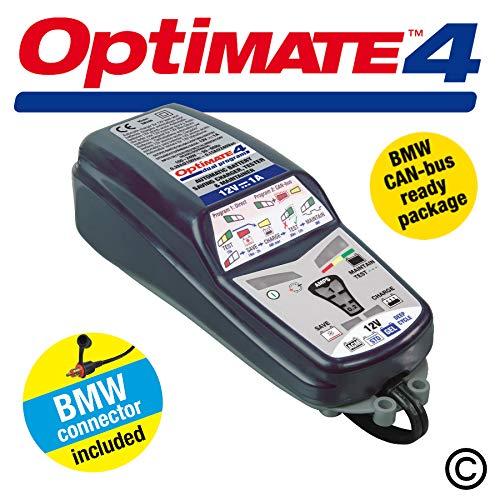 Optimate 4 CANbus compatible 12 V Cargador de batería automático para Motocicleta