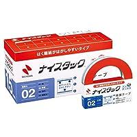 ニチバン 両面テープ ナイスタック 10巻入 15mm×18m NWBB-DE15