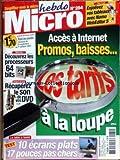 HEBDO MICRO [No 284] du 25/09/2003 - NAMO WEBEDITOR 5 - ACCES A INTERNET - PROMOS -...