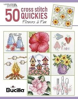 50 Cross Stitch Quickies Flowers | Cross Stitch | Leisure Arts (6961)