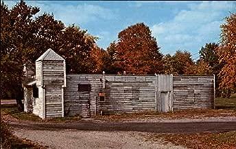 Fort Harrison Terre Haute, Indiana Original Vintage Postcard