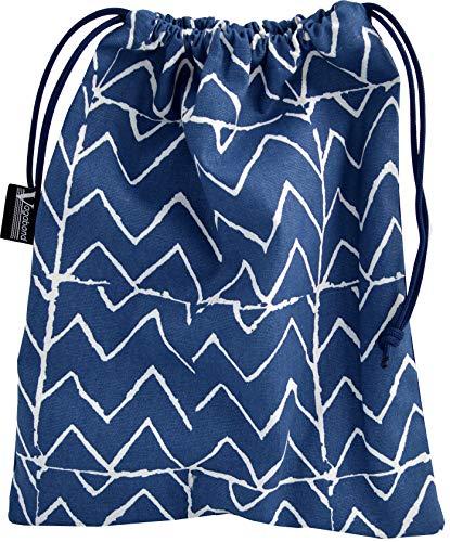 Vagabond Bags Mojave Drawstring Bag Trousse de Toilette 31 Centimeters Bleu (Blue)
