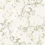 Papel pintado tnt flores de flores Papel pared flores beige verde rosa 364981 36498-1 Michalsky Living Dream Again   beige/verde/rosa   Rollo (10,05 x 0,53 m) = 5,33 m²