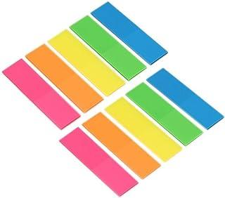 Onglets dindex,Sticky Note Adh/ésif 900 pi/èces Color/és Feuillets Autocollant Pour Bureau Maison Apprentissage /Él/èves Ouvriers Administrateur de Biblioth/èque 3 style 9 ensemble