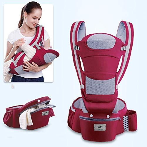 Portabebe Portabebe - Portabebe portabebés ergonómico de alta calidad para bebés de 0 a 3 a 48 m, para recién nacidos, Ergoryukzak morado morado