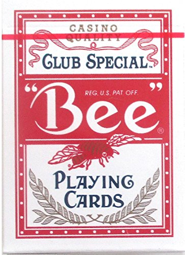 Bee Club Special casino Red Playing Cards New Sealed Deck Baha Mar