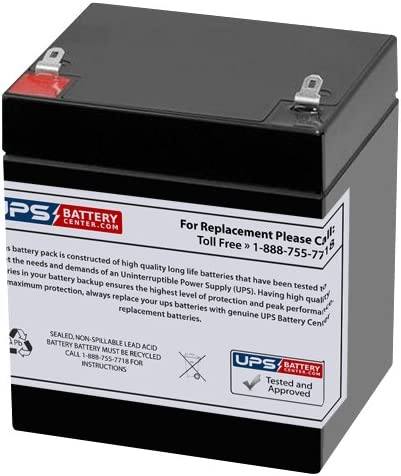 MK ES5-12SA 12V 5Ah Limited time trial price F1 Factory outlet Replacement Battery