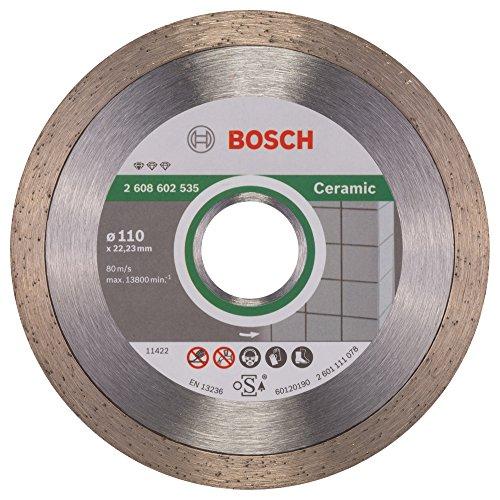 Bosch 2608602535 Standard for Ceramic Diamond Cutting Disc, 110mm Ø,...