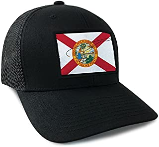 Florida State Flag Trucker Style Snapback by