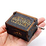 Boîte à musique Star Wars Pure-Classique à la main, Boîte à musique Main-en bois...