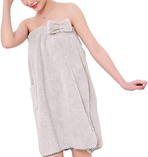 per donna 2 in 1 in microfibra Telo da bagno//vestaglia e turbante da bagno asciugatura rapida Voilette Claire