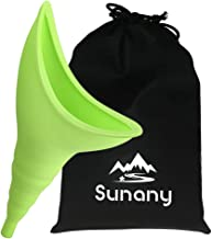 Female Urination Device,Reusable Silicone Female Urinal Foolproof Women Pee Funnel Allows Women to Pee Stanting Up,Women's Urinal with Drawstring Bags is The Perfect Companion for Travel and Outdoor