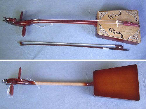 モンゴル民族楽器 馬頭琴 上級用