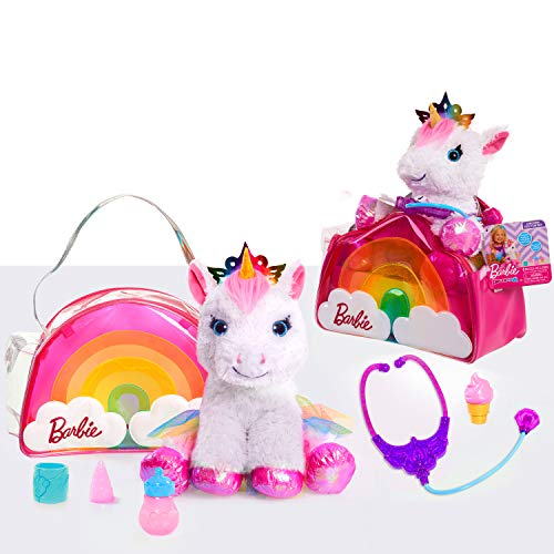 Barbie Dreamtopia 8-Piece Doctor Set with Unicorn Plush