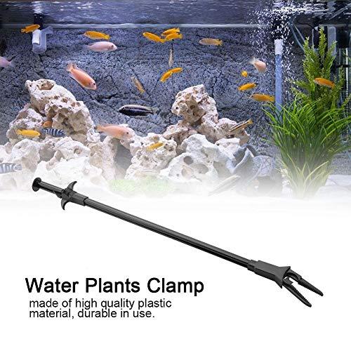 Nunafey Ziehende Klauenzange Schnittzange Aquariumpinzette , Wasserpflanzenklemme , für Teiche, Süßwasser und Salzwasser zur Pflege und Beschneidung von Unterwasserpflanzen