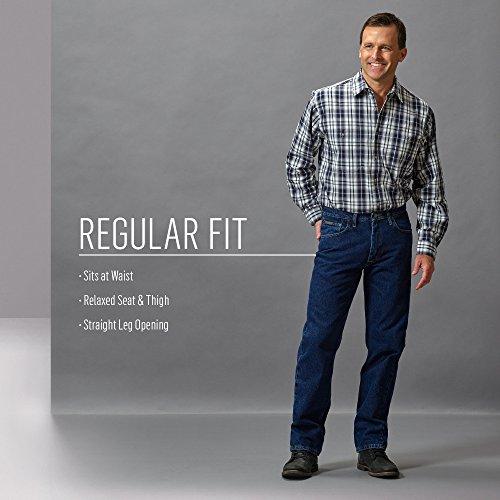 Wrangler Mens Genuine Regular Fit Jean,Mediterranean Blue,32x29