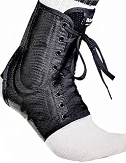 McDavid Classic Logo 199 CL Level 3 Ankle Brace / Lace-up W/ Stays Black Small
