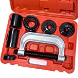 Thorstone Ball Joint Press Kit - U Joint Remover Tool Set with Adapters